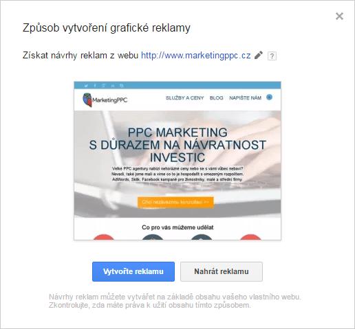 návrh reklamy