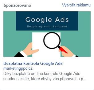 reklama na pravé straně