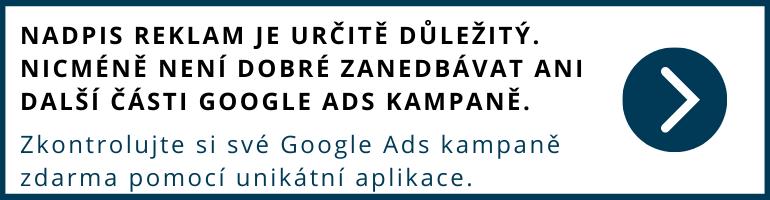bezplatná kontrola google