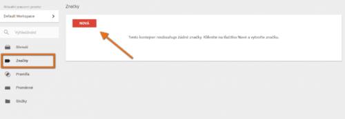 vlozeni html znacky