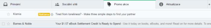 gmail reklama