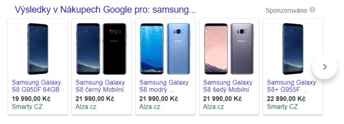 reklama nakupy google