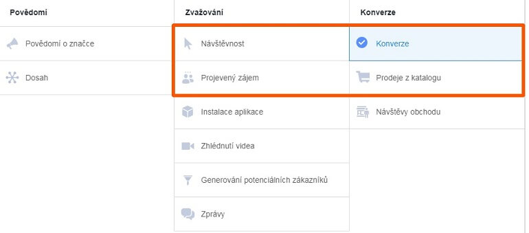 typy facebook kampani