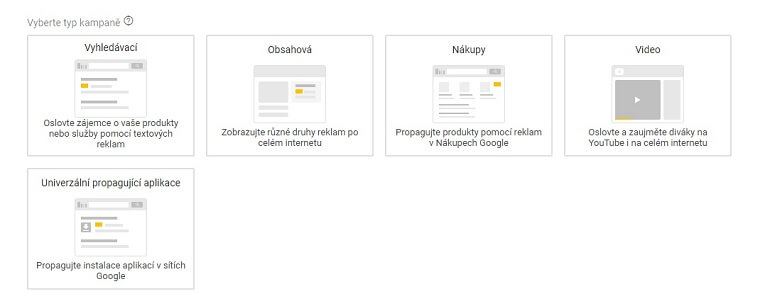 typy google kampani