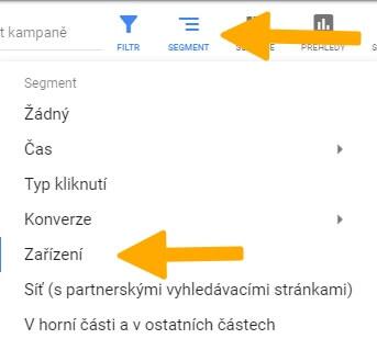 google segment